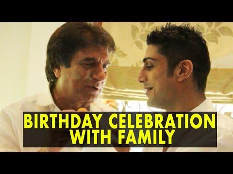 Raj Babbar Celebrates His Birthday With Family