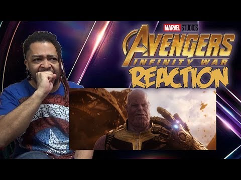 Marvel Studios' Avengers: Infinity War Official Trailer REACTION!!