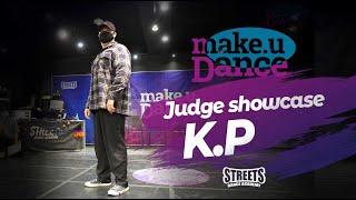 K.P – Make U dance judge show