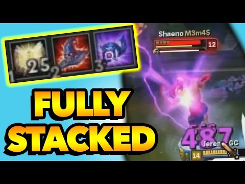FULLY STACKED AP Malphite One-Shots Are Crazy (видео)