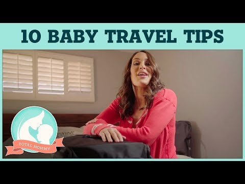 Brie's top 10 tips for traveling alone with your baby!   Total Mommy