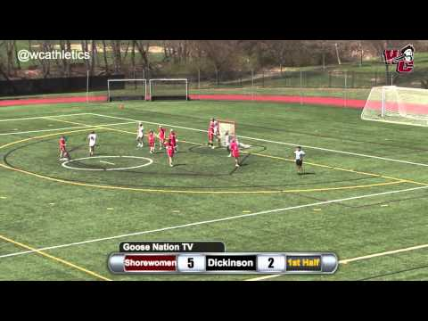 Shorewomen Lacrosse - Quick Strike Goal v. Dickinson