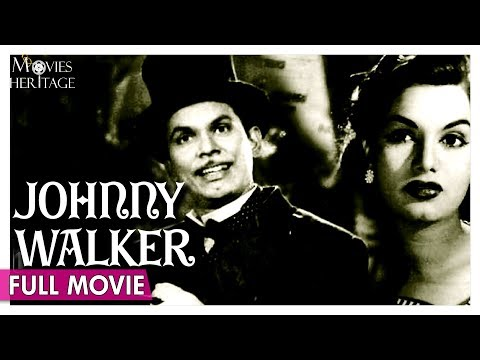 Johnny Walker 1957 Full Movie | Johny Walker, Shyama | Old Classic Comedy Movie | Movies Heritage
