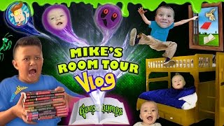 HOUSE TOUR 2.0: Mike's Room Tour gives us Goosebumps + Shawn Gets Sneaky! (FUNnel Vision Vlog)