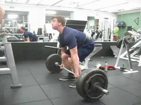 475 Raw Deadlift warm up