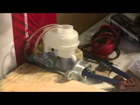 Replacing a Master Cylinder [1999 Pontiac Grand Prix]