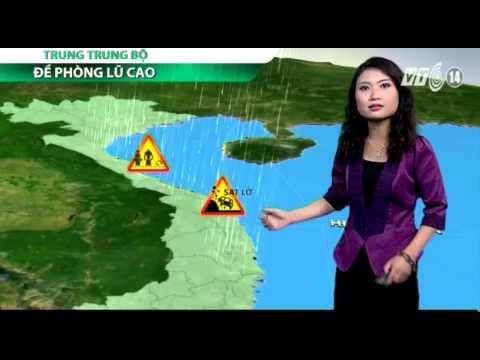 VTC14_Thời tiết Sáng ngày 5.12.2014