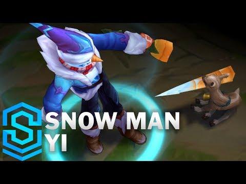 Master Yi Người Tuyết - Snow Man Yi