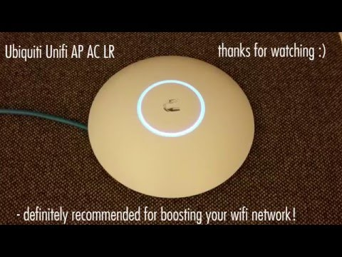 Ubiquiti Unifi AP AC LR Unboxing, Setup and Review