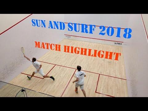 Squash Tournament Highlight - Jericho Sun & Surf 2018 - Teaser
