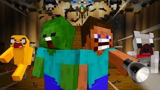 STEVE ESCAPES the HORROR HOSPITAL - MINECRAFT STEVE AND BABY ZOMBIE [31]