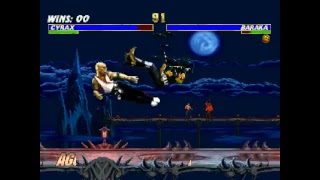 mortal kombat trilogy.