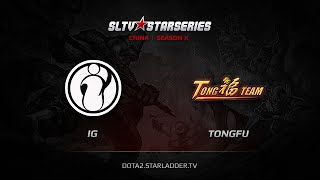 IG vs TongFu.WZ, game 1