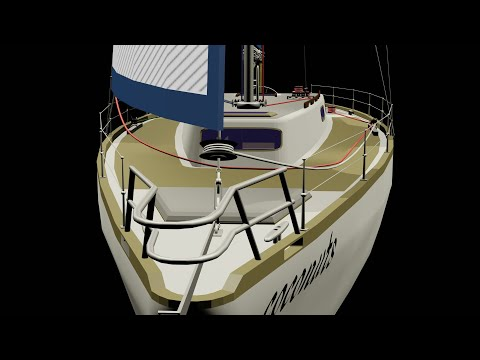 Rigging for beginners # 1. Sailboat rigging explained from standing rigging to running rigging.