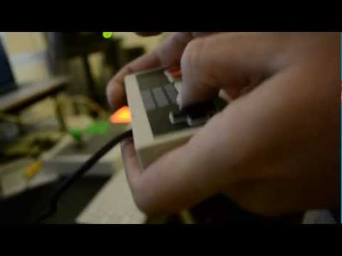 Making music with a NES-Controller!!!