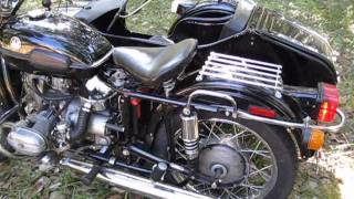 9. 1999 Ural Tourist motorcycle with sidecar