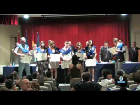 Lieferung von Diplomen LXIII EUIT Förderung Luftfahrt