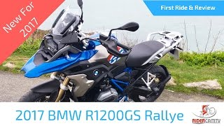 9. 2017 BMW R1200 GS Rallye First Ride and Review - What a bike!