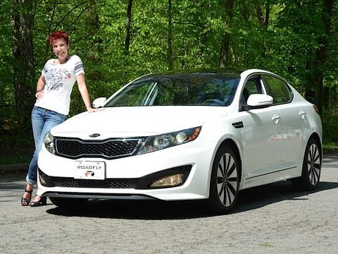 Kia Optima Turbo 2011 Test Drive & Car Review – RoadflyTV with Emme Hall