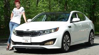 Kia Optima Turbo 2011 Test Drive&Car Review - RoadflyTV With Emme Hall