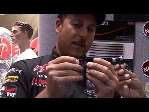 Bryan Thrift demos Damiki's Mamba Jig 2 at ICAST 2012 for Fishhound.com