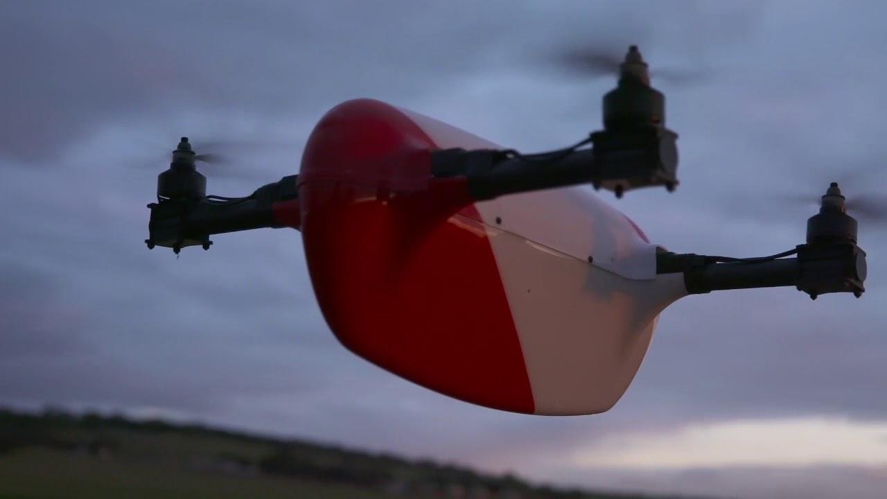 Большие гонки больших дронов