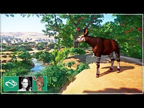🦒 Okapi Mountain | Wildlife Park | Planet Zoo | Inama Zoo | Ep. 7