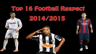 Top 10 Football Respect ● Ronaldo ● Messi ● Neymar ● ibrahimovic ● 2014-2015 |HD, neymar, neymar Barcelona,  Barcelona, chung ket cup c1, Barcelona juventus