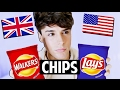 AMERICAN vs BRITISH: Chips vs Crisps