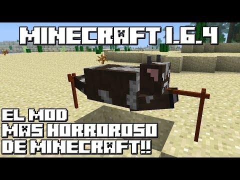 Minecraft 1.6.4 EL MOD MAS HORROROSO DE MINECRAFT!