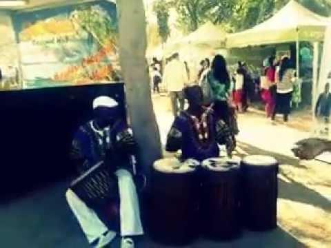 African Music @tasteofdubai by Kiza (Street artists)
