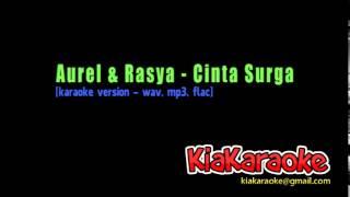 Aurel & Rasya - Cinta Surga [karaoke version]