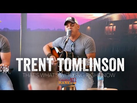 That's What's Working Right Now - Trent Tomlinson (Acoustic)