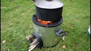 Greenway Appliances Jumbo Wood Stove Review