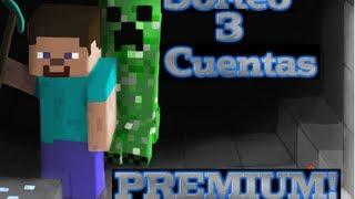 Sorteo 3 Cuentas Premium De Minecraft [2013]