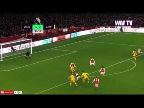 Arsenal Vs Crystal Palace 2 0 All Goals & Extended Highlights   01.01 .2017
