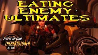 Eating Enemy Ultimates With D.VA 3 (Nom Nom Nom) [Overwatch]