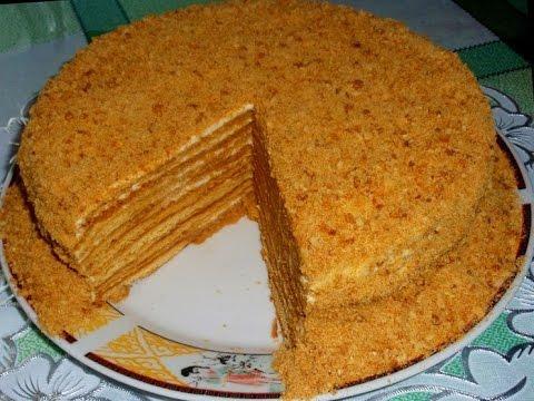 Рецепты с фото - торты