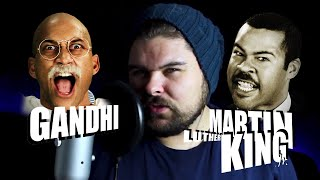 Epic Rap Battles of History Gandhi vs Martin Luther King Jr. Reaction