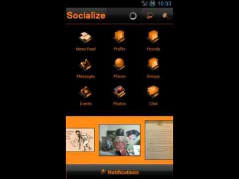 Video of Orange Socialize for Facebook