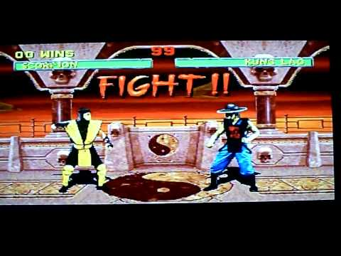 mortal kombat 2 saturn rom cool