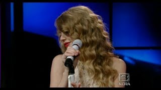 Taylor Swift - Speak Now # Live from New York