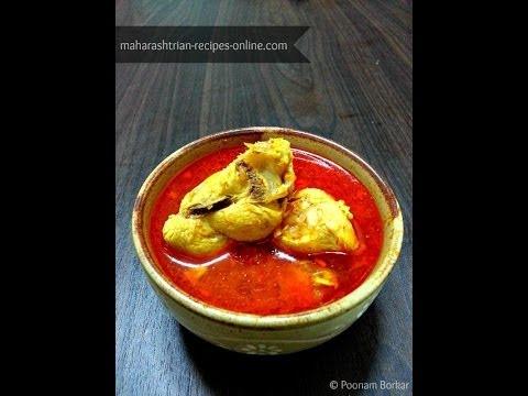 Chicken Curry (Maharashtrian style)