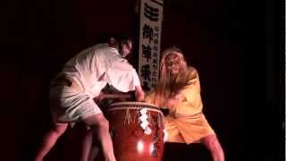 Wajima Japan  city images : Gojinzyo-daiko Taiko-drum 御陣乗太鼓 輪島 Wajima Japan