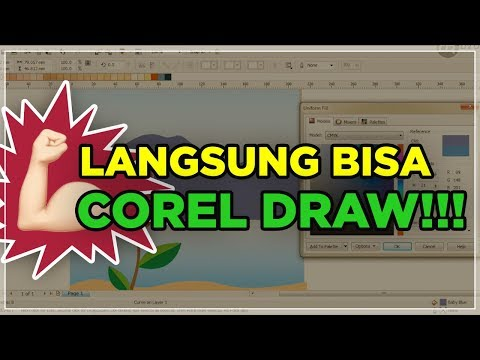 TUTORIAL COREL DRAW: DASAR-DASAR VECTOR