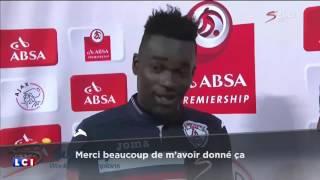 Le footballeur ghaneeen Mohammed Anas remercie sa femme ET sa petite amie aprees un match