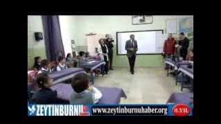 Zeytinburnu Belediye Başkanı Murat Aydın Okularda Ağız ve Diş Sağlığı Seti Dağıtıyor