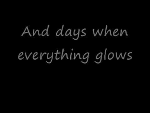 D-A-D - Everything glows (with lyrics)