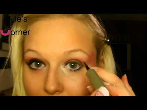 Marienkäfer Make-Up Tutorial Karneval - Jule's Corner
