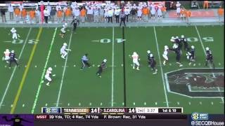 Dylan Thompson vs Tennessee (2014)